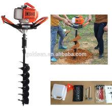 52cc 1700w Hand-Held manual cerca de poço escavador escavação máquina de perfuração de poço terreno portátil Earth Auger