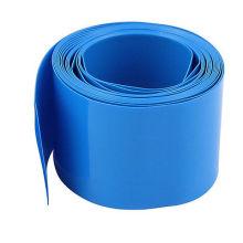 Manchon de câble d'isolation de tuyau de rétrécissement de la chaleur de tube bleu thermo-rétrécissable bon marché de tube de 25mm