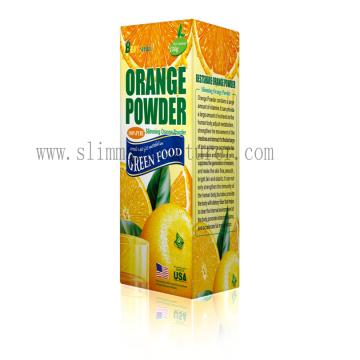 Mieux partager la perte de poids poudre de Fruit Orange