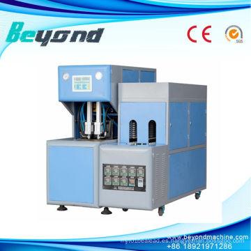 Máquina que sopla de la botella plástica semiautomática