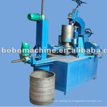 FD Brida que forma el reborde (dentro del barril del ventilador) máquina