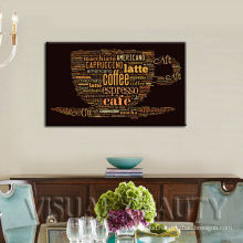 Abstract Coffee Canvas Wall Painting Designs Arts