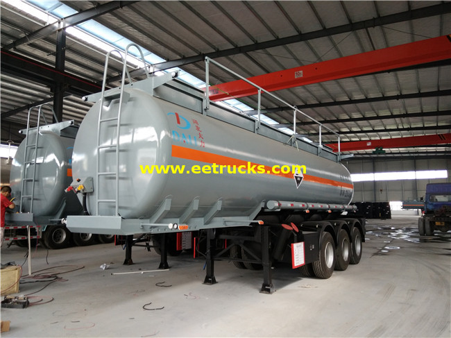 25000L Nitric Acid Tank Trailers