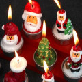 Xmas Stana Claus Candle Gift Set di decorazioni