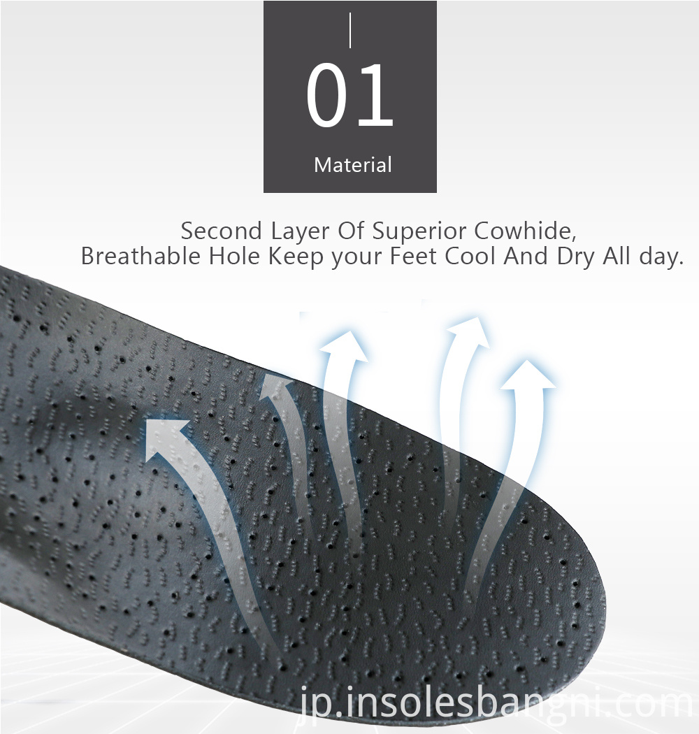 sheepskin leather insoles