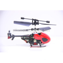 QS5012 QS5013 2.5 CH Mini infrarrojo IR teledirigido RC helicóptero (rojo y negro)