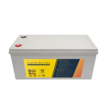 5 years warranty deep cycle 12v 200ah lihtium lifepo4 battery pack for any application