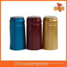 High quality Clear Pvc Heat Shrink Cap Seal for water labels