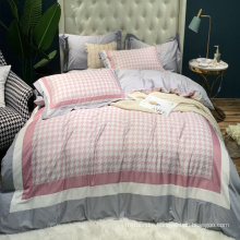 Home Decoration Cheap Price Bed Linen Cotton Printed Soft for Queen 4PCS Bed Sheet