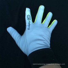 Promotional customized reflective glove for riding bike safety