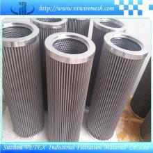 Éléments du filtre en acier inoxydable résistant à la chaleur