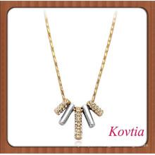 Chaîne en or épais et élégante accessoires pour femmes bijoux en or 14k en gros