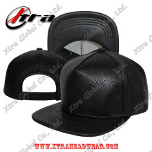 5 Pieces Snakeskin Leather Cap