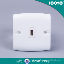 Wall Switched UK Power Socket with Charging Port