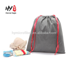Custom size non woven drawstring package bag