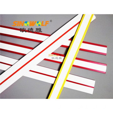 Δίχρωμο PVC Edge Banding Double Color Edgebanding