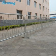 Logam Baja Galvanized Crowd Barrier