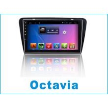 Android System Car DVD Player para Octavia com carro de navegação GPS e WiFi