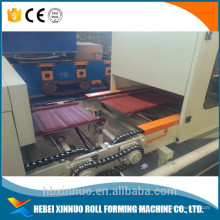 xn máquina de teja de acero de piedra / máquina de azulejos recubiertos de piedra / línea de máquina de teja recubierta de piedra