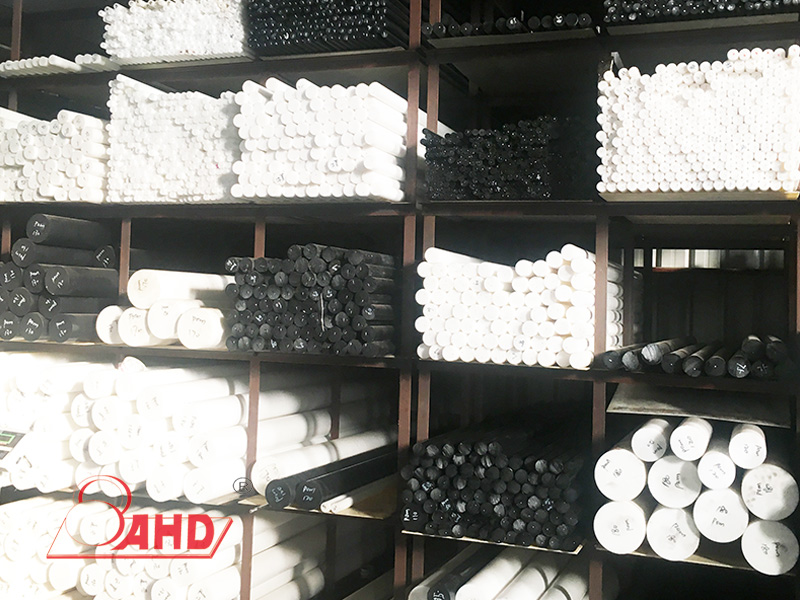 White HDPE Rod stock