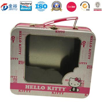 Прямоугольная коробка с прямоугольным прямоугольником с окном