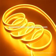 O brilho alto ultra morno fino de SMD 2835 aquece a luz de néon IP67 da corda do cabo flexível impermeável