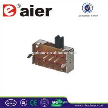 Mini interruptor deslizante SK23D07 fabricado en China Interruptor deslizante de 8 contactos