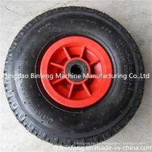 Rueda neumática de goma del neumático 3.00-4 para los echadores, carretilla de mano, carretilla, carros de mano