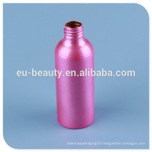 empty perfume aluminum bottle with color coating