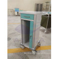 AG-CHT012 CE ISO powder coating steel frame hospital paper holder medical trolley