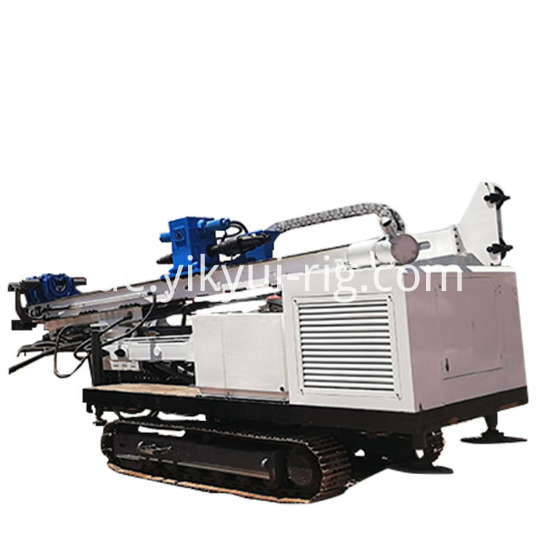 Crawler Drill Reverse Circulation Rotary Electric Drilling Rig 2