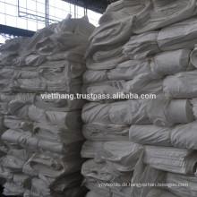 Grauer Webstoff - 100% Baumwolle kardiert / 120*58 CD30*CD30