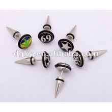 Fashion stainless steel ear expansion piercing