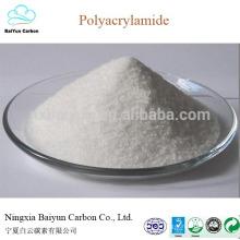 preço competitivo de poliacrilamida floculante catiónico / aniónico poliacrilamida