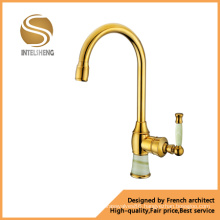Luxury Fashion Stone Handle Kitchen Faucet (ICD-0304)