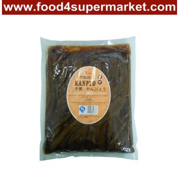 Pickled Kanpyo Gourd Strip Brown in 1kg Bag for Sushi Material