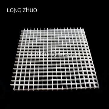 Black Plastic Louver Eggcrate Panel