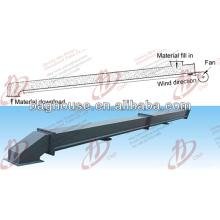 Certificação ISO tela quente da corrediça do ar da venda para transportar o material a granel