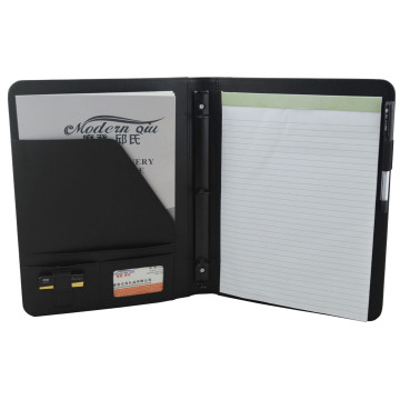 A4 Zipper Portfolios with Calculator for Office