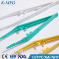 Plastische chirurgische Verriegelungspinzette Medizinische Kunststoffpinzette