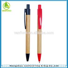 Pena de esfera ambiental material de bambu amigável de ECO para relativo à promoção