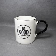 Tasse à café en céramique Poignée noire