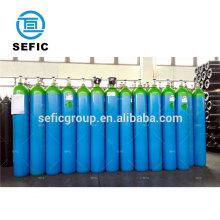 high pressure seamless steel argon gas cylinder 7M3