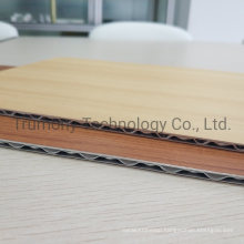 Wooden Marble Series PVDF A1 Grade Fire-Resistant for Indoor or Outdoor Decoration Aluminum Core Composite Panel