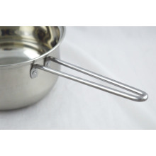 ChaoZhou stainless steel European milk pot