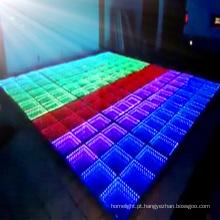 Telhas novas de Dance Floor do diodo emissor de luz da luz de exposição do diodo emissor de luz do modelo do casamento