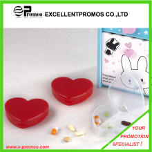 Heart Shape 3 Compartments Pill Case (EP-P412905)