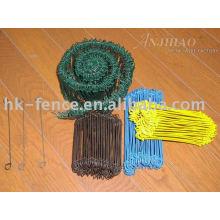 pvc coated loop wire ties