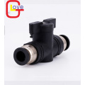 Plastic BUC Quick Joint Hand Valve Pneumatic Fittings