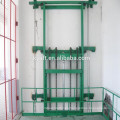 Electric china warehouse Hydraulic Vertical Cargo Lift